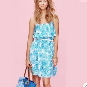 Lilly Pulitzer Sea Urchin for You Dress Aqua